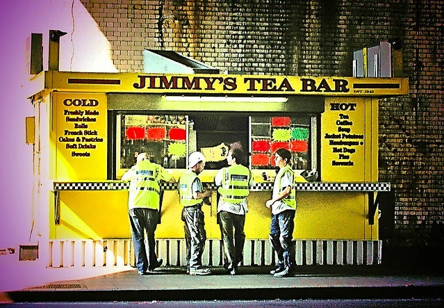 JImmy's Tea Bar, Waterloo by Buckaroo Kid