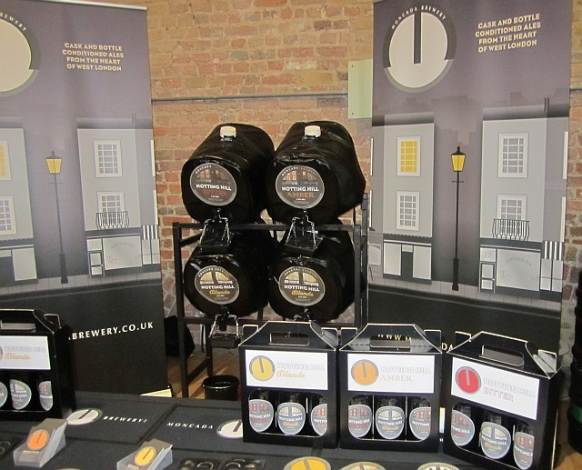 A first outing for Ladbroke Grove's Moncada Brewery.