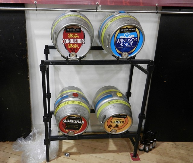 Windsor & Eton Brewery's selection.