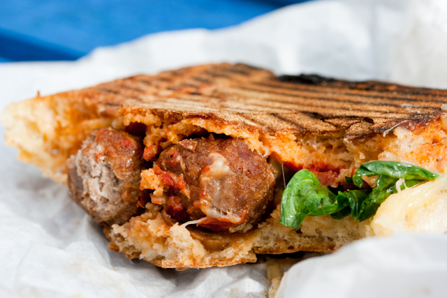 Sandwichist - Meatball Sandwich At Luca, Dalston