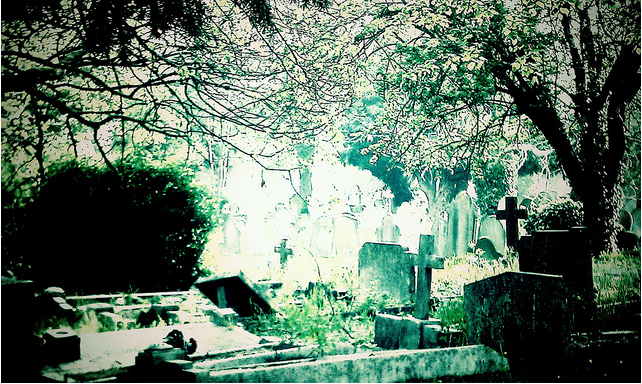 Morning cemetery - but where? By Chic*ka