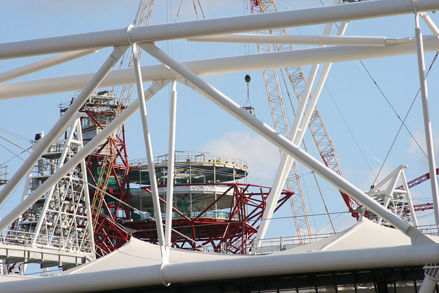 The Orbit and the Stadium. Photo / Andy Wilkes