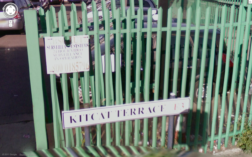 Kitcat Terrace, in Bow.