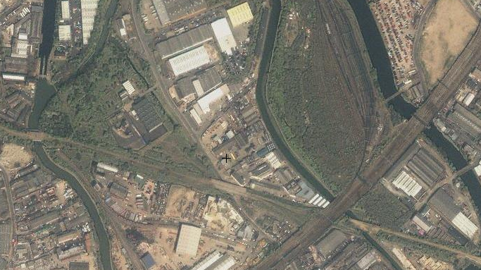 The Olympic Park. Yahoo! remembers when it was all fields, and light industrial units.