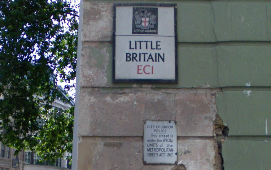 Little Britain...an odd name even before it became a TV show.