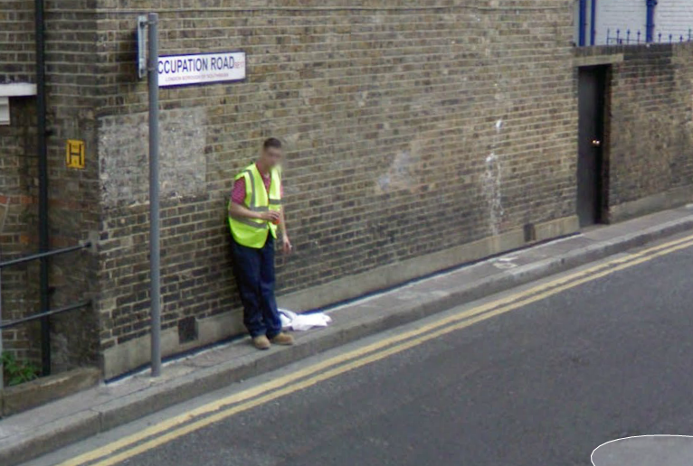 Occupation Road (Walworth)...but what's his?