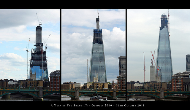 The Shard's Growth Over The Past Year