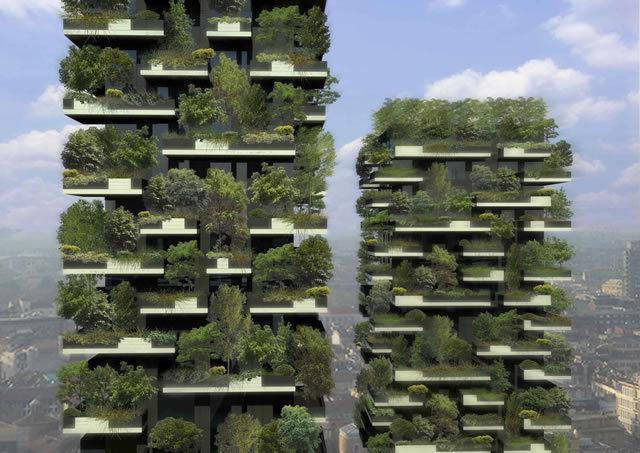Stefano Boeri, Vertical Forest © Stefano Boeri