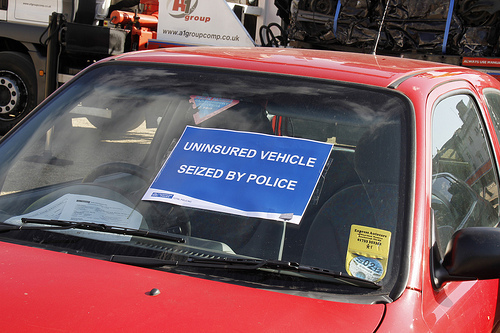 Met Delivers Crushing Blow To Uninsured Drivers