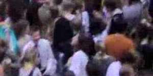 Last Night's Flash Mob