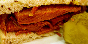 Sandwichist – Salt Beef Sandwich from The Brass Rail, Selfridges