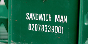 Sandwichist - 65p Sandwiches from The SandwichMan, Clerkenwell