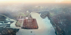 Norman Foster Outlines Thames Estuary Airport Plans