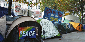 "Occupy Camp ""Attracting Vulnerable People"""