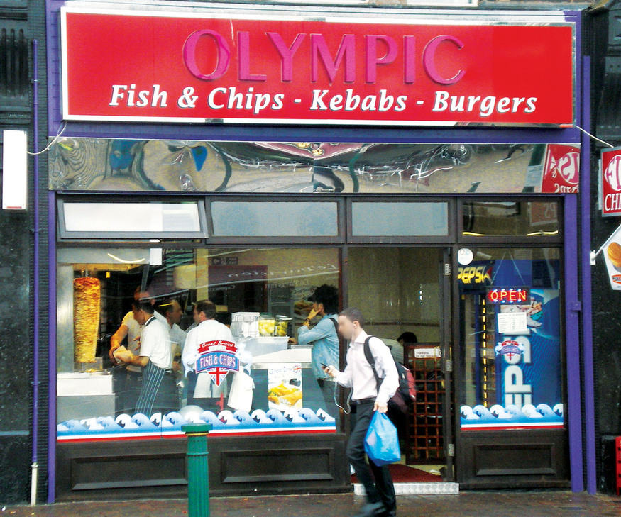 Kebabs for heroes.