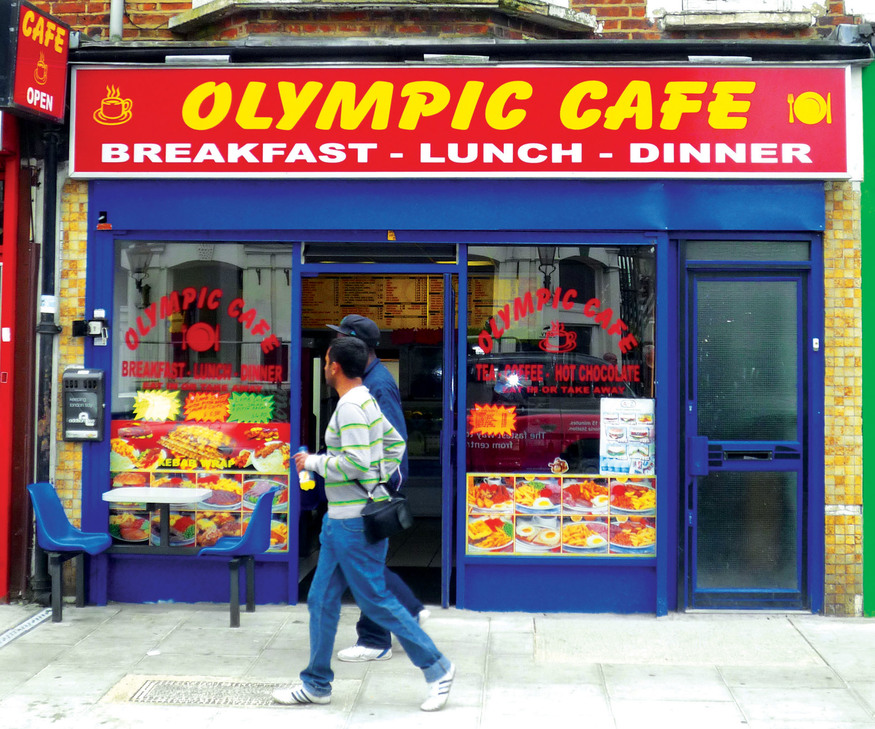 The London Shops With Olympic Names