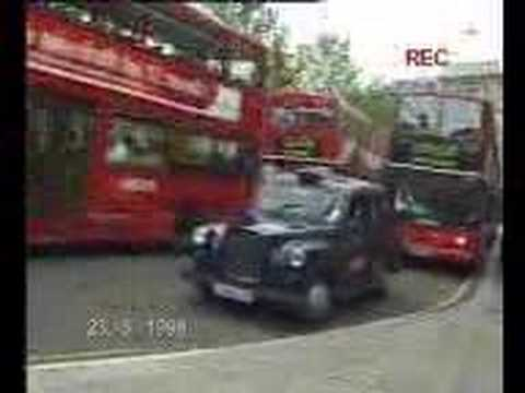 How Not To Exit A London Taxi