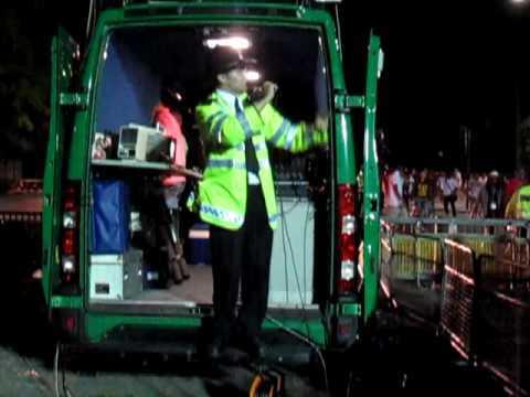 Police in Michael Jackson Tribute