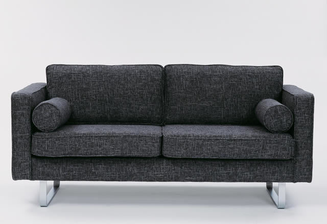 59th Street Sofa in grey black, designed by Terence Conran. Conran Collection
