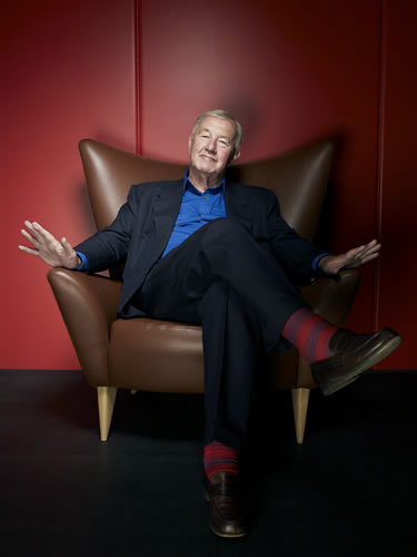 Terence Conran. Photo by Neil Wilder. Are those M&S socks, do you think?