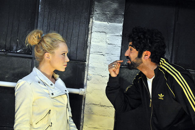 Daisy Lewis as Georgina and Ray Panthaki as Ibi