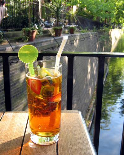 Drink-ography: Summer Pimms by Sugar-T