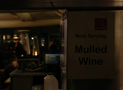 Drink-ography:  Now Serving Mulled Wine