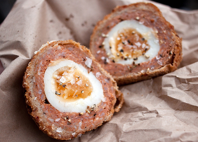 Chorizo Scotch Egg from Eat My Pies by Simon-K