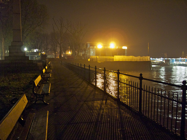 Thames Path, Greenwich by avail