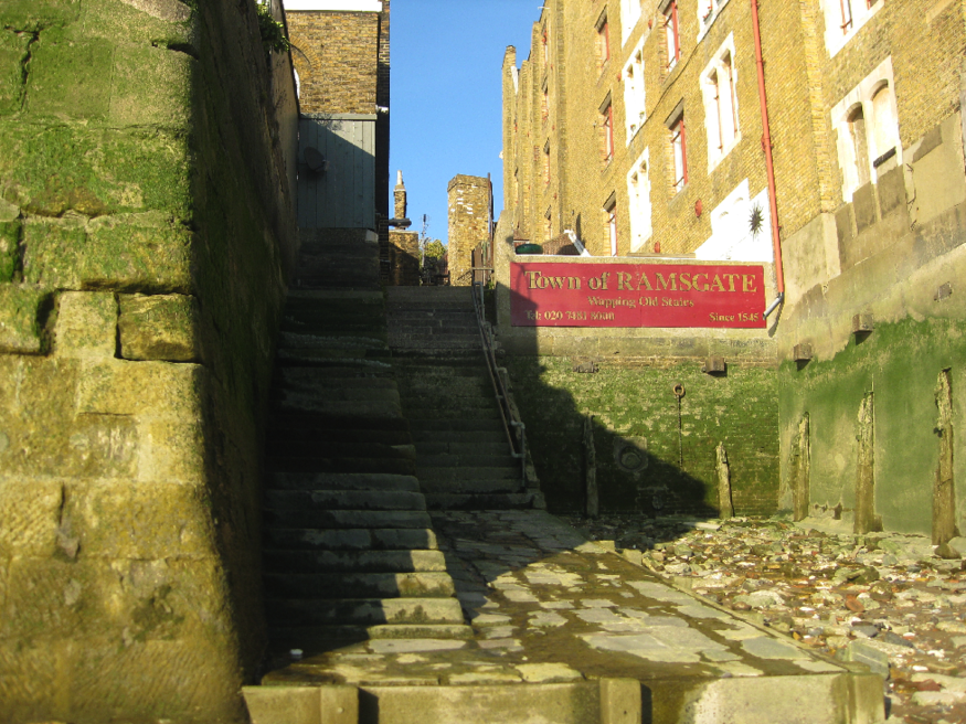 Wapping steps by Matthew Hanratty.