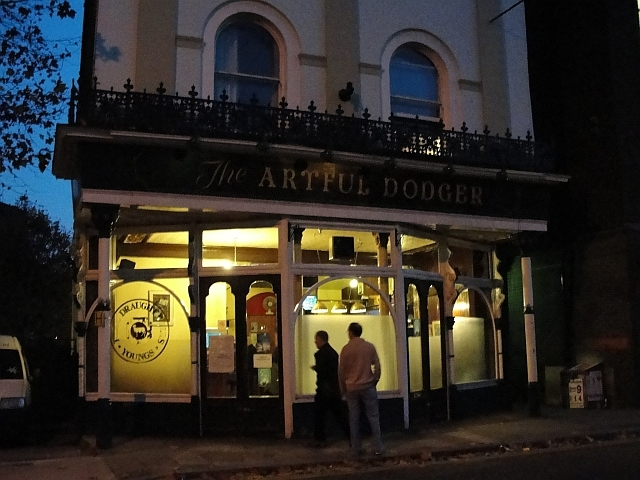 The Artful Dodger in... where would you describe this? Shadwell? / photo by Rachel H