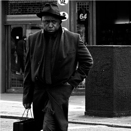 Urban man by Noirchick73