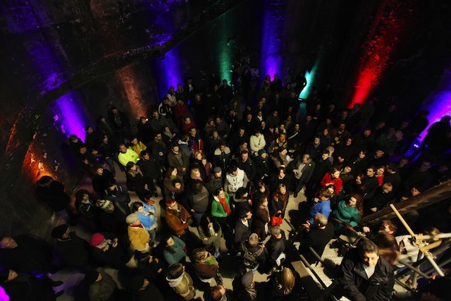 Christmas Fun In The Brunel Museum's Underground Chamber