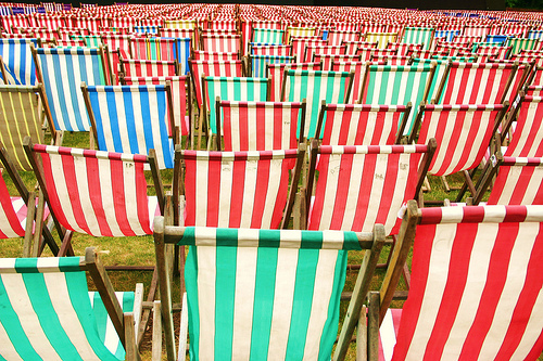 Deckchairs by Sarah Heenan