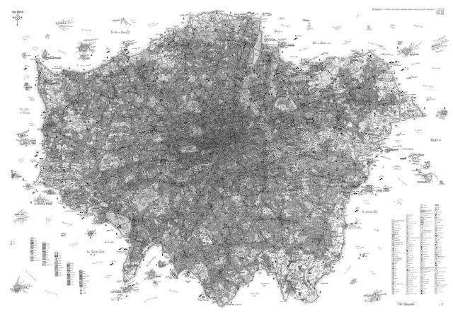 London Maps: The Magical, The Methodical And The Multifaceted