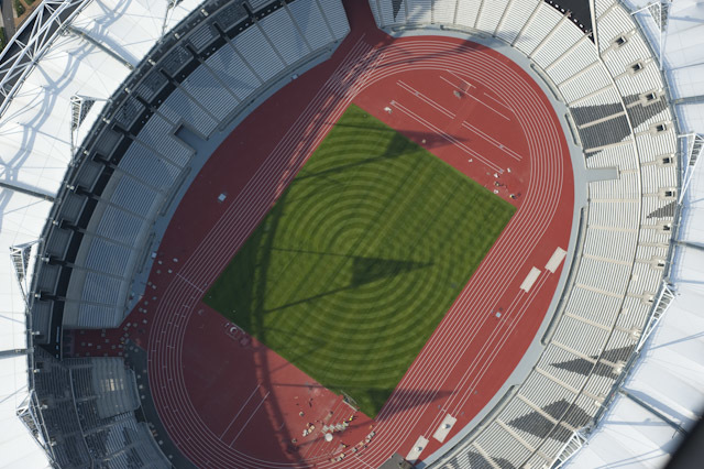 Olympic Stadium by Jason Hawkes