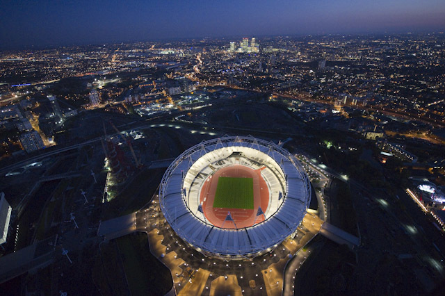 London Olympic Stadium by Jason Hawkes
