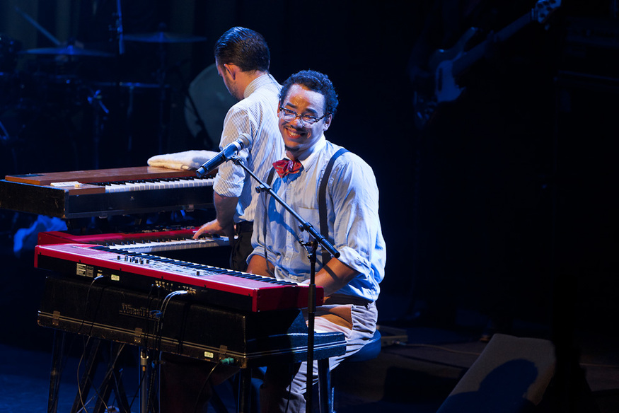 Benjamin Duterde, aka Ben L'Oncle Soul, is a French soul singer. He played Queen Elizabeth Hall last Saturday.