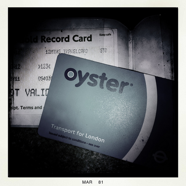 Survey Into Londoners' Oyster Card Habits