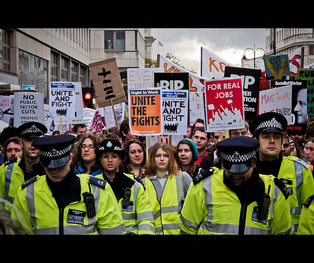Public Sector Strikes In London