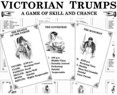 Santa's Lap: Victorian Trumps