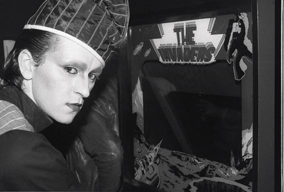 Steve Strange at Hell 1980 (Copyright GrahamSmith)