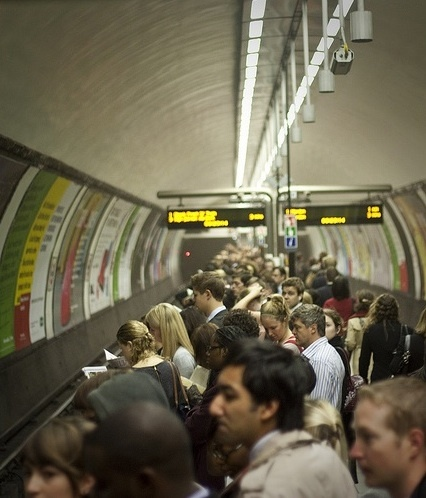 Rush Hour Chaos On The Central Line