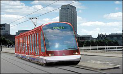 Cross-River Tram, a north-south tram scheme pioneered by Ken Livingstone. It was axed by Boris Johnson in 2008.