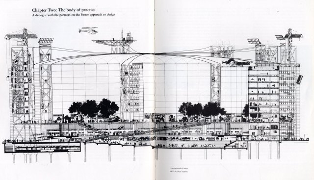 A 1970s plan for Hammersmith Broadway by Norman Foster.