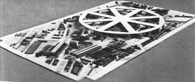 Model for the King's Cross Aerodrome.