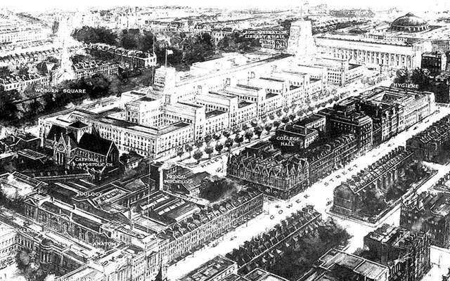 The full plan for Senate House