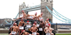 Santa's Lap: The Naked Cabbie Calendar