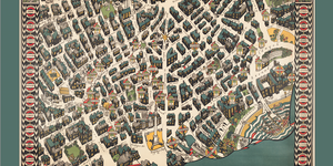 Maps: London Theatreland, 1915