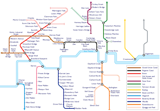 A Soundmap Of London's Waterways